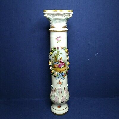 Antique European porcelain base, 19th century.