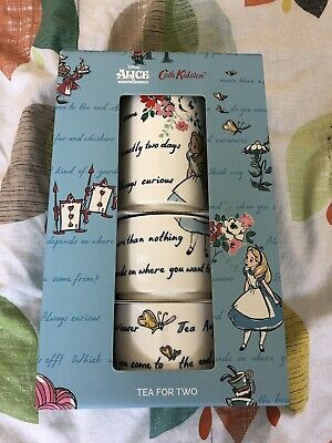 Cath Kidston Disney Alice in Wonderland Tea for Two Teapot Cups