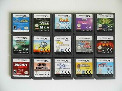 Nintendo Ds - Game Bundle - 15 Games - Cart Only - Tested / Working
