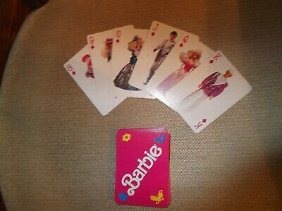 Barbie (and Ken) Playing Cards