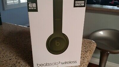 Beats by Dr Dre Solo 3  Wireless Bluetooth Headphones Neighborhood collection .