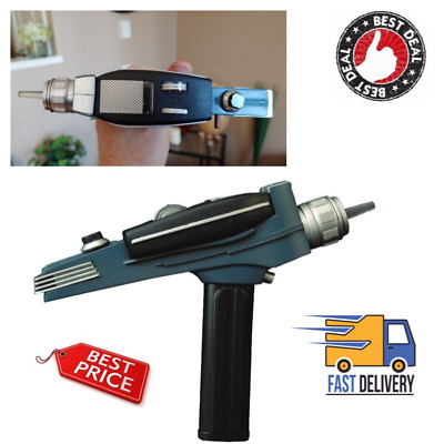 Star Trek The Original Series Black Handle Phaser Electronic Role Play