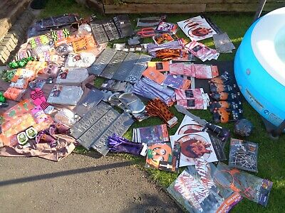 Halloween, Decorations Job Lot New Ideal For Carboot/ Ebayer/ Market Trader