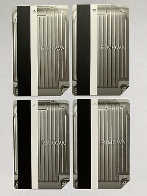 RIMOWA Complete Set (4) Metrocard - Expired in Mint Condition *Collectible Item*