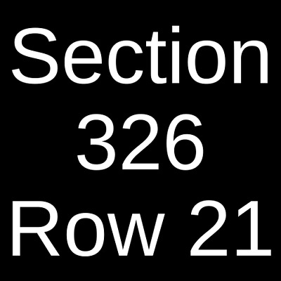 4 Tickets Green Bay Packers @ New York Giants 12/1/19 East Rutherford, NJ