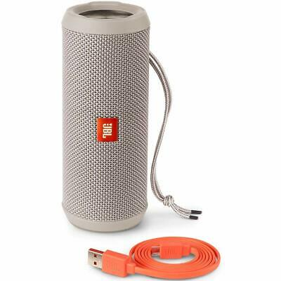 JBL Flip 3 Splashproof Portable Bluetooth Speaker - Gray New Condition