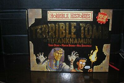 Horrible Histories Presents the Terrible Tomb of Tutankhamun Pop Up Book
