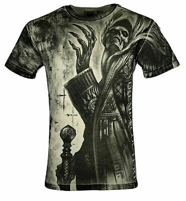 XTREME COUTURE by AFFLICTION Mens T-Shirt APOTHECARY Skulls Biker Gym S-5X $40