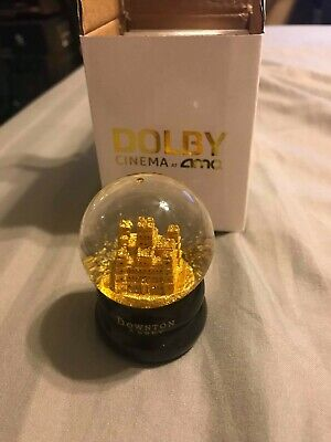 Downton Abbey Movie Fan Event Exclusive Snow Globe AMC Dolby Cinema EXCLUSIVE