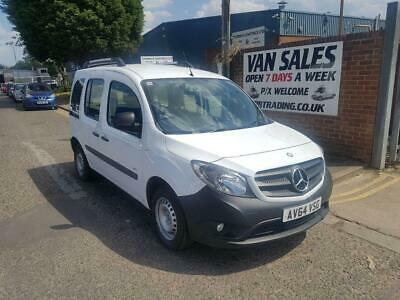 2014 64 Mercedes-Benz Citan 1.5Cdi Long Traveliner 109 White Manual Diesel Car D