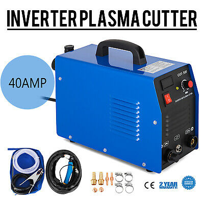 CUT-40F DC Inverter Air Plasma Cutter Cutting Machine 40A Portable & Accessories