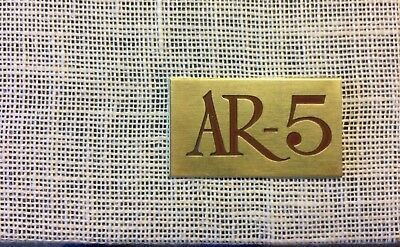 Acoustic Research AR5 grille (SET) with **original logo**