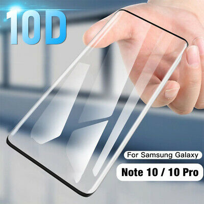 10D Screen Protector For Samsung Galaxy S8 S9 S10 Plus Note 10 9 Tempered Glass