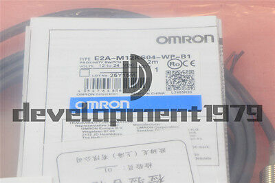 New OMRON Photoelectric Switch E2A-M12KS04-WP-B1 E2AM12KS04WPB1