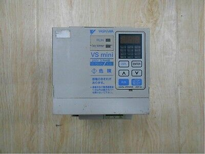 Used YASKAWA Inverter CIMR-XCBA20P7 0.75KW 220V Tested