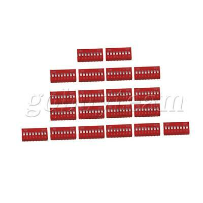 2.2x10MM DIP-8P DIL Toggle Switch for All PCB Projects 24V Pack of 20