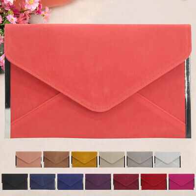 Women Envelope Clutches Chain Strap Ladies Purse Fashion Design Handbag Wallet