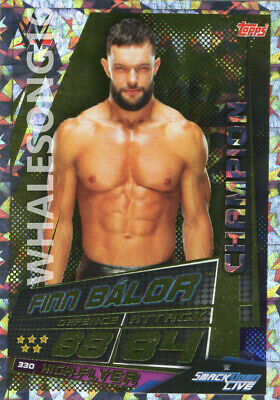 Topps Wwe Slam Attax Universe - Finn Balor Champion Card - Wrestling