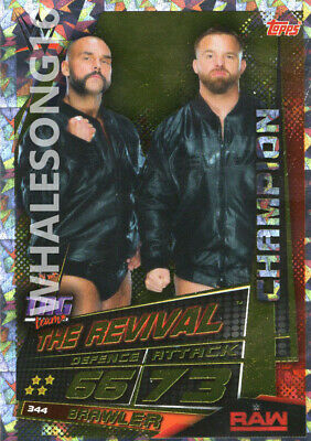 Topps Wwe Slam Attax Universe - The Revival Champion Card - Wrestling - Raw