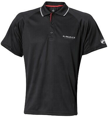 Held Funktions-Poloshirt Cool Dry schwarz Gr. L