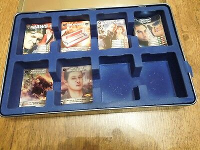 James Bond 007 Commander Spy Cards Collection - 164 all different + tin