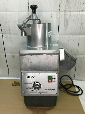 Robot Coupe R6V Commercial Continuous Feed Food Processor tested