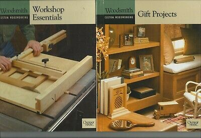 Woodsmith Custom Woodworking books by Oxmoor House 11 volumes see list