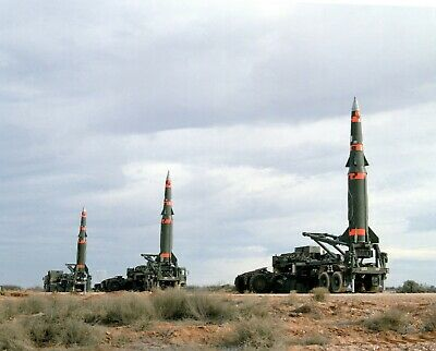 US ARMY USA Pershing II battlefield support missile 8X12 PHOTOGRAPH