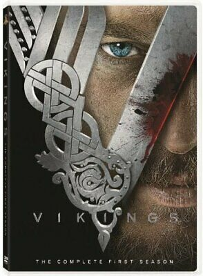 Vikings Complete Season Series 1 TV Show DVD Box Set NEW Travis Fimmel Action