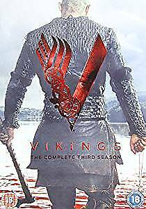 Vikings Complete Season Series 3 TV Show DVD Box Set NEW Travis Fimmel Action