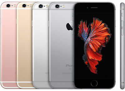 iPhone 6S 16gb/32gb/64gb Unlocked Smartphone in Gold, Silver, Gray or Rose