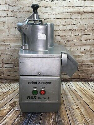 R6x robot coupe commercial food processor