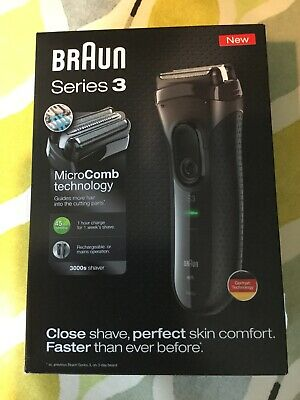 NEW Braun Series 3 Shaver 3000s