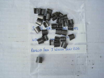 Cosworth BDG Valve Collets,Cotters - 32 Off - 4 Events From New - Exc Cond