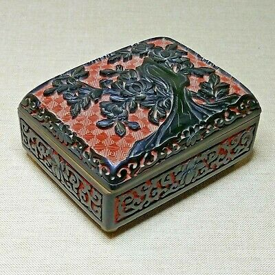 Vintage Chinese Lacquer box, 20th century.