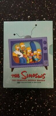 The Simpsons the Complete Second Season DVD