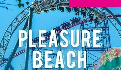 Blackpool pleasure beach wristbands / tickets for Sunday 20th October X 2