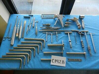 Zimmer Smith & Nephew Surgical Orthopedic Instruments