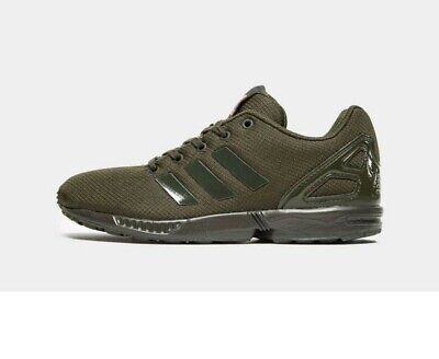 Adidas Original ZX Flux Junior Trainers Size: 2.5
