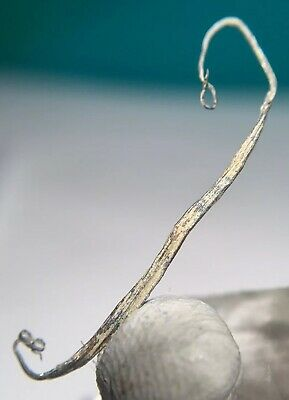 Pure Silver Wires Specimen Mined In Shanxi China (2.5cm Length)