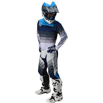 Small, White//Gray Troy Lee Designs Mens Offroad Motocross SE PRO Mirage Jersey