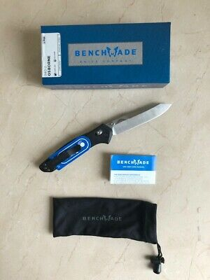 Benchmade 940-2 Black G-10 Custom Osborne Design Knife, Cpm-S30V, New In Box