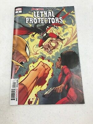 Absolute Carnage Lethal Protectors #1 MARVEL Comic Cover N/MINT