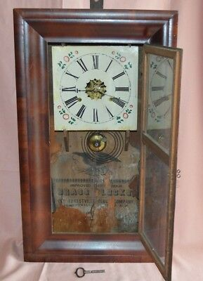 Brass-Clock Antiguo Reloj de Pared Reloj de Péndulo