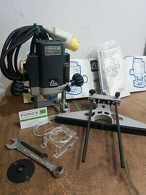 """Elu Mof96e 110v 1/4"""" Variable Speed plunge Router Immaculate With Accessories"""