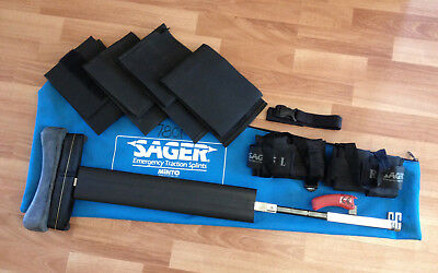 Minto Sager Emergency Medical Bilateral Traction Splint S304