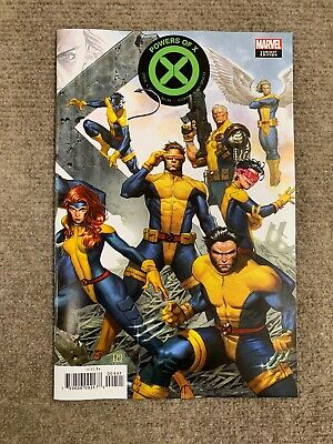 Powers of X #4 Molina Connecting Variant Marvel Comics