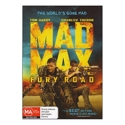 Mad Max: Fury Road DVD Brand New Region 4 Aust. - Tom Hardy, Charlize Theron