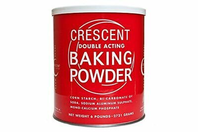 Crescent Double-Acting Baking Powder 2.72Kg  - Free Post