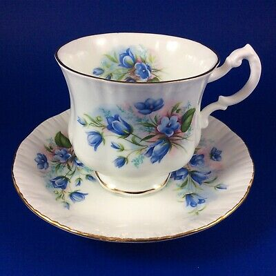Paragon Bluebells Fine Bone China Tea Cup And Saucer